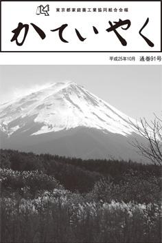 広報誌「かていやく」通巻91号